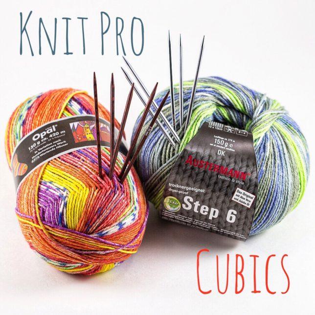 knit pro cubics