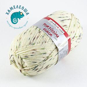 Fortissima Tweed Effekt 6-ply 154 Natur