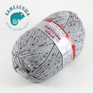 Fortissima Tweed Effekt 6-ply 156 Hellgrau