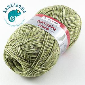 Fortissima Tweed Effekt 6-ply 170 Laub