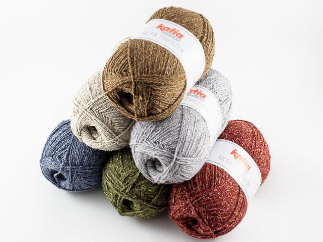 KATIA Seta Tweed II Socks