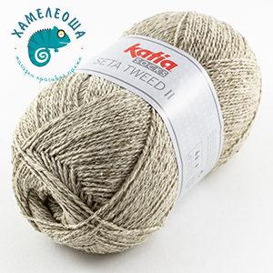 Katia Seta Tweed II Socks 80 Жемчуг
