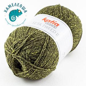 Katia Seta Tweed II Socks 83 Хризолит