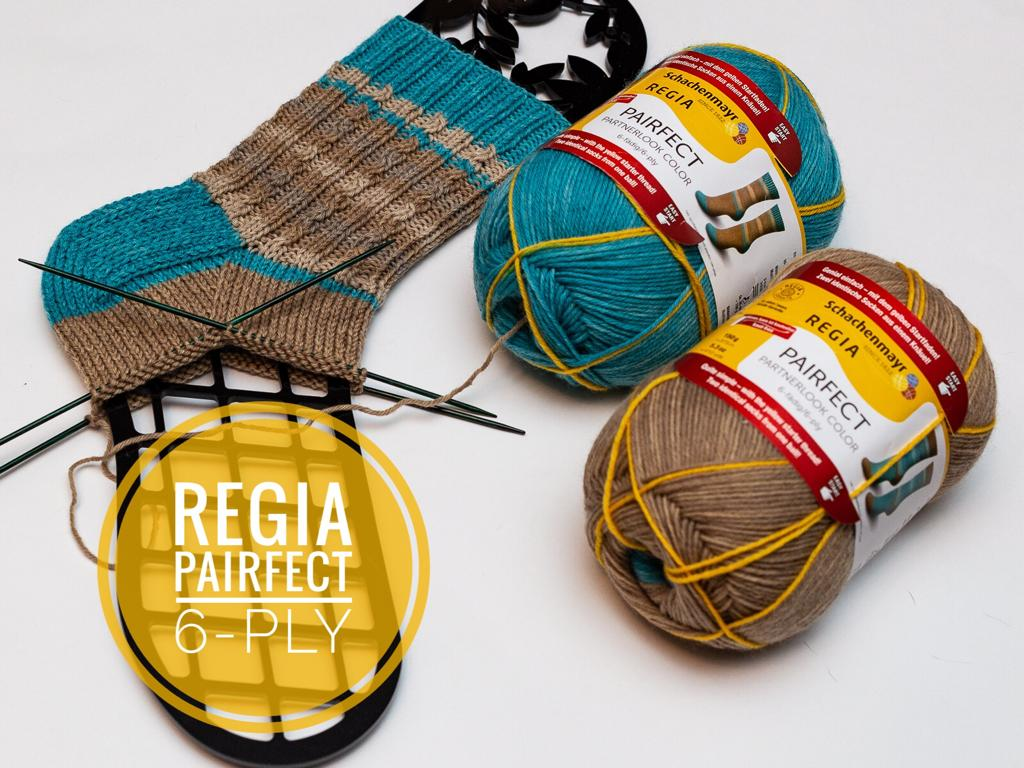 Regia Pairfect Partnerlook Color 6-ply