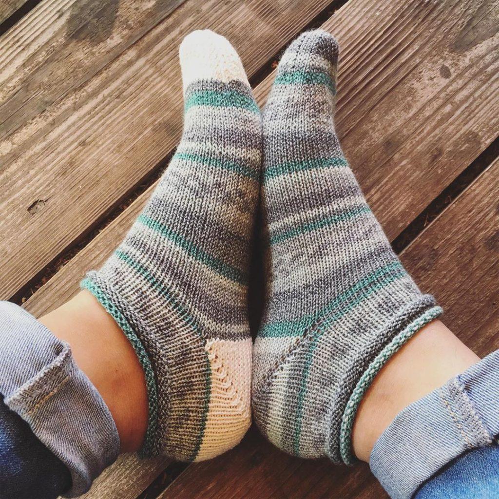 мастеркласс как связать носки спицами