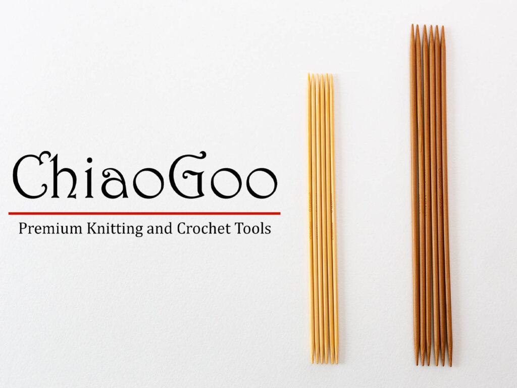 бамбуковые чулочные спицы ChiaoGoo для вязания
