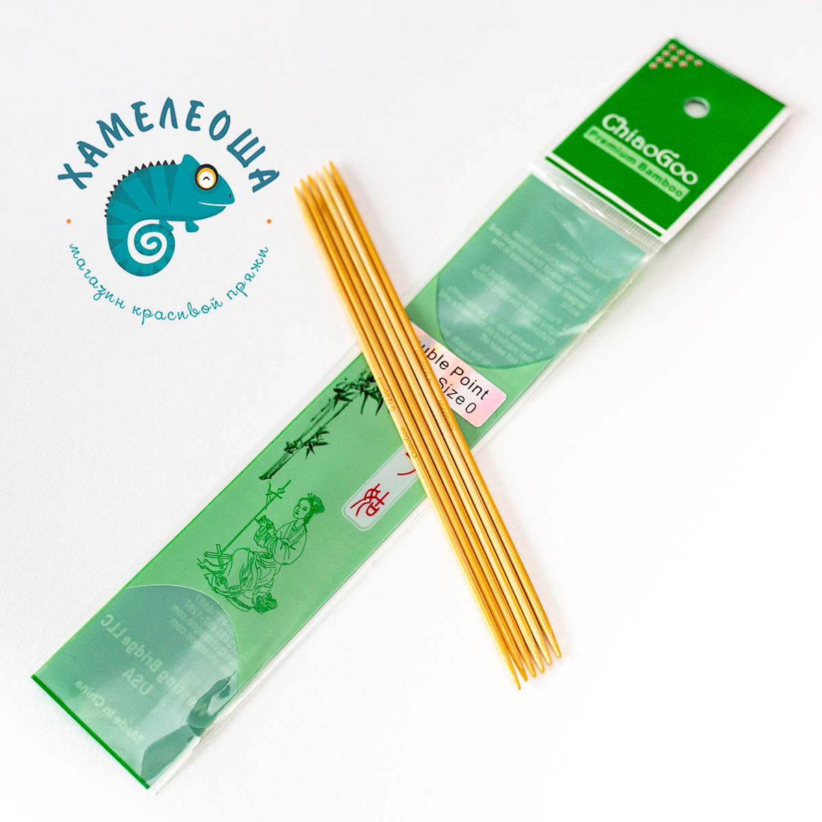 ChiaoGoo чулочные бамбуковые