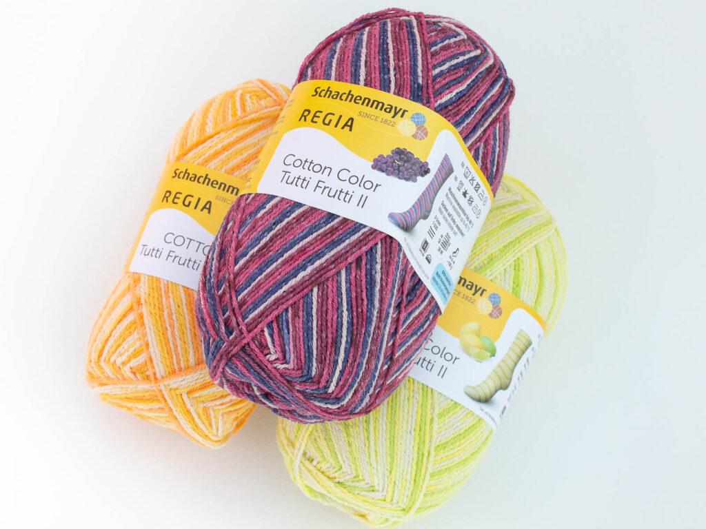 Носочная пряжа Regia Cotton Color Tutti Frutti